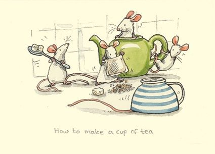 How to make a cup of tea - Anita Jeram