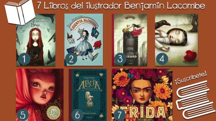 7 Libros Recomendados del Ilustrador Benjamin Lacombe