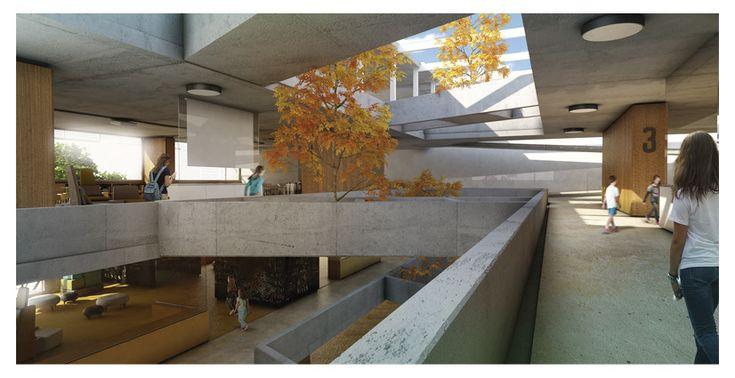 """Galería de Segundo Lugar Concurso """"Hacia una Nueva Arquitectura Escolar"""" / Mariano Alonso + Ludmilla Crippa + Ariel Jinchuk - 6"""