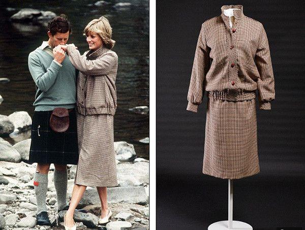 Bill Pashley, 1981. В этом твидовом костюме Диана позировала для фотосета с медового месяца с принцем Чарльзом в замке Балморал.