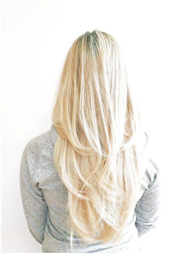 3 Natural Ways To Get Lush Long Hair Long Hair Styles Straight Blonde Hair Hair