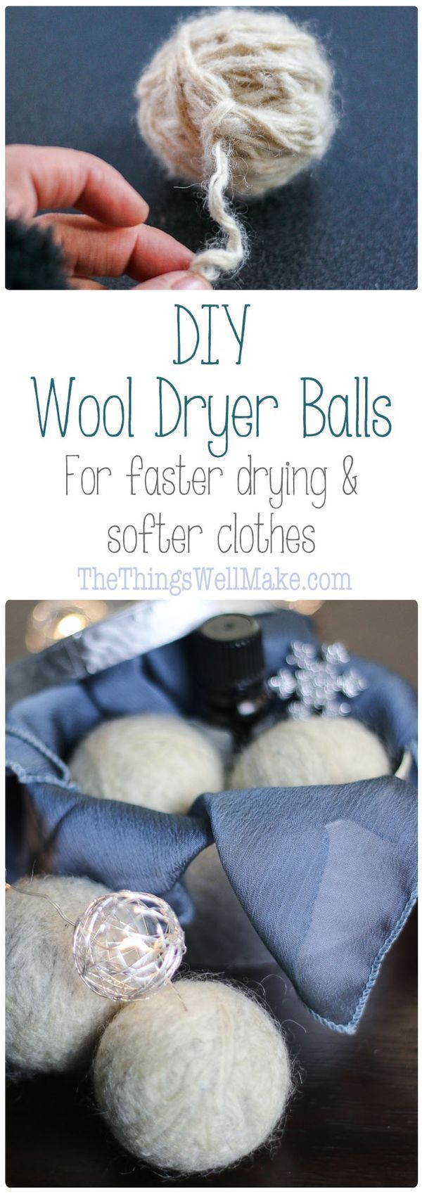 25 Best Ideas About Dryer Balls On Pinterest Wool Dryer