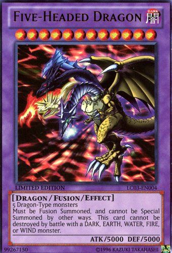Yu-Gi-Oh! - Five-Headed Dragon (LC03-EN004) - Legendary Collection 3: Yugi`s World - Limited Edition - Ultra Rare