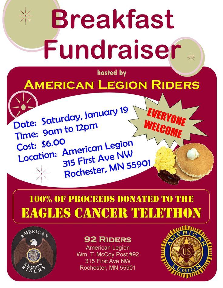 American Legion Breakfast Fundraiser American Legion