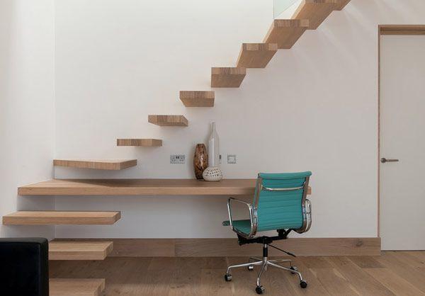 Escalera y escritorio, 2x1...
