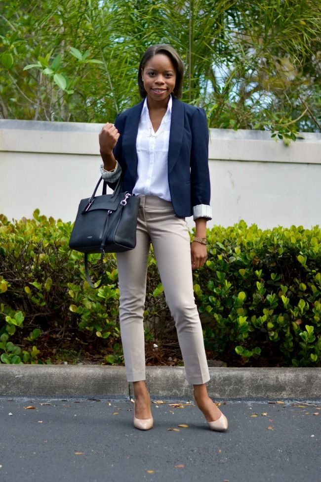Best 25+ Navy blazer outfits ideas on Pinterest | Blue blazer outfit Navy blue blazer and ...