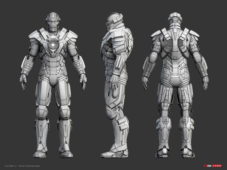 《鋼鐵人3》 概念藝術