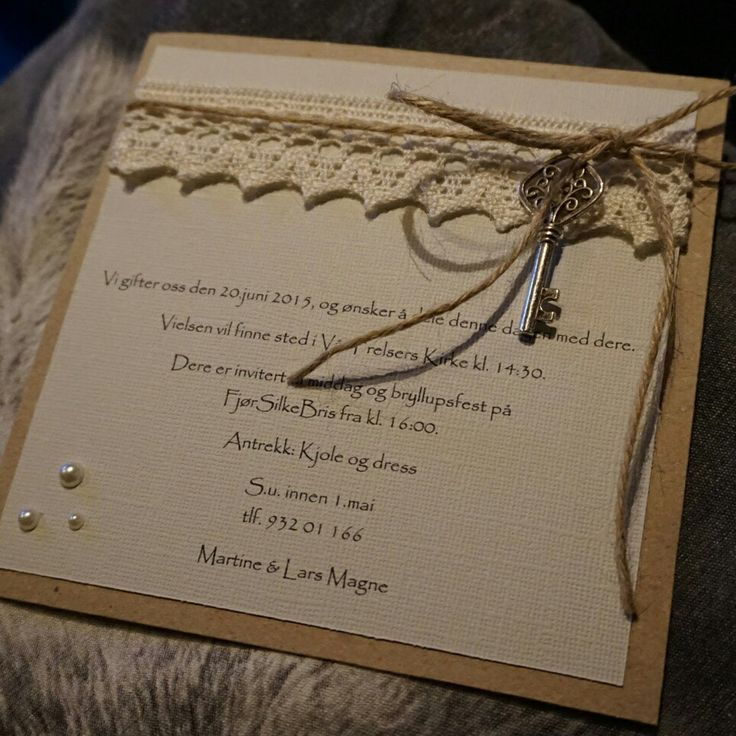 Our invitations ♥