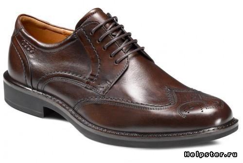 Мужские коричневые ботинки с чем носитбь