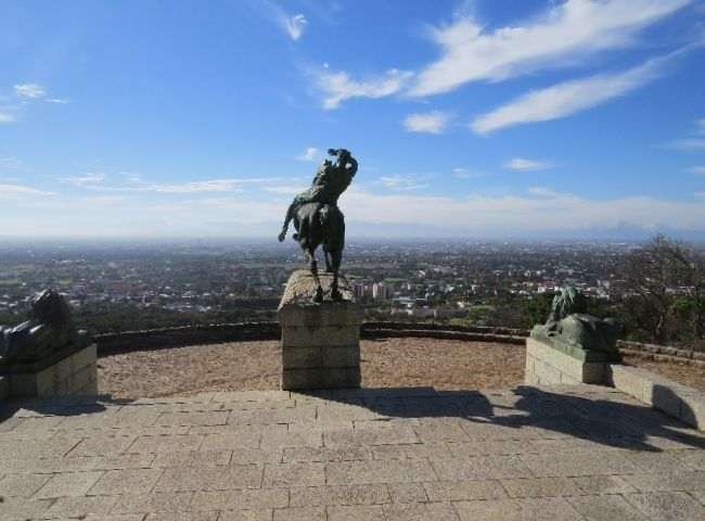 Take a short hike up to Rhodes Memorial above the University of Cape Town and have a picnic lunch while enjoying a commanding view of the whole city. Or bring wine and watch the sunset