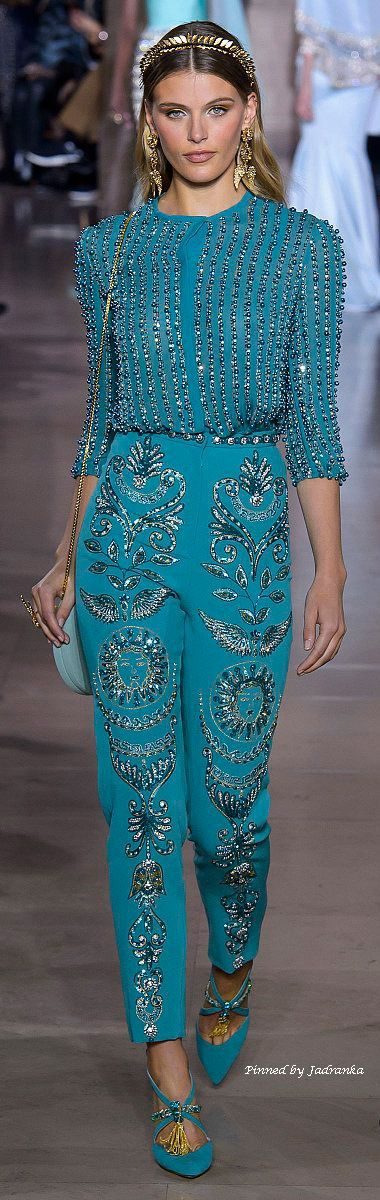 Georges Hobeika Frühling-Sommer 2018 – Haute Couture – Chic – #Chic #Couture … – damenmode