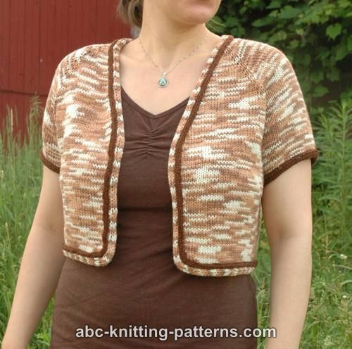 Knitting Pattern Summer Cardigan : 17 Best images about Knit Summer Tops on Pinterest Free ...