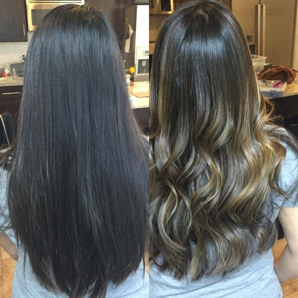 Beige Highlights On Black Hair Hairs Picture Gallery