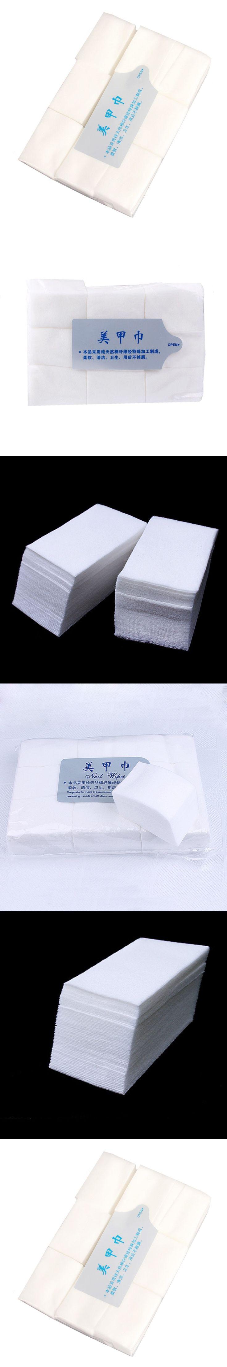 900PCS Nail Tools Bath Manicure Gel Nail Polish Remover Lint-Free Wipes Cotton Napkins For Nails
