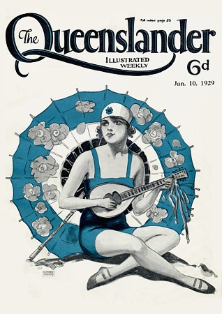 The Queenslander. 1929    http://www.vintagevenus.com.au/products/vintage_poster_print-mics271