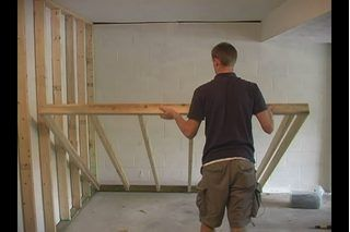 Step-by-Step on How to Convert a Garage to a Room...because I love the house plans on this board, but HATE attached garages!