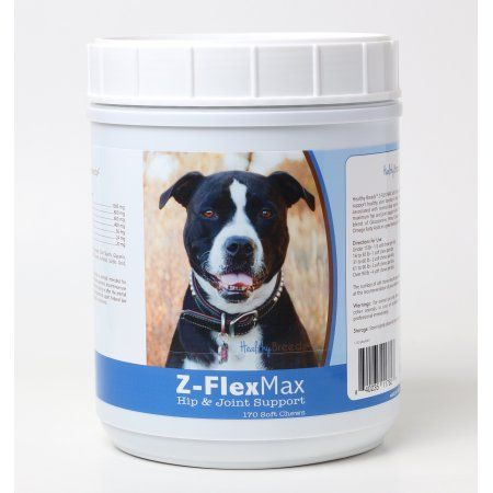 Healthy Breeds Pit Bull Z-Flex Max Hip & Joint Soft Chews 170 Count