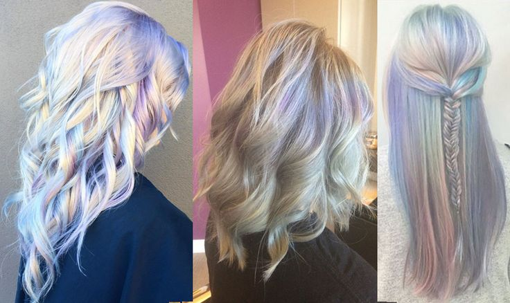 Opal hair is the perfect way to mix things up without 100% taking the crazy colorful hair plunge.