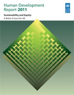 Il Rapporto sullo Sviluppo umano 2011 offre nuovi importanti contributi al dialogo globale su questa sfida, mostrando come la sostenibilità sia inestricabilmente legata all'equità – a questioni di equità e giustizia sociale, oltre che a un più ampio accesso a una migliore qualità della vita.