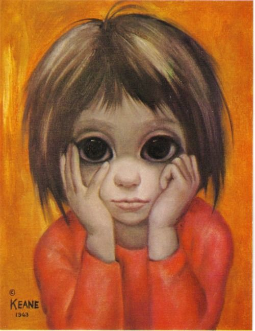 Tim Burton is directing a movie about Margaret Keane's life?! :D