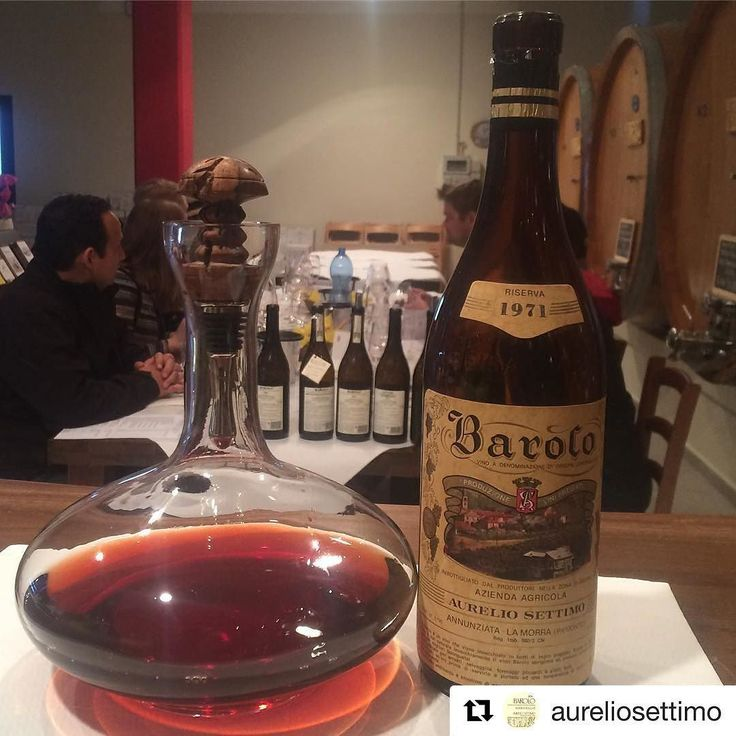 @aureliosettimo Don't visit our cellar if you don't like surprises  #Barolo #1971 #rocchedellannunziata for our #friends from #Calgary  @vinroomyyc #yycwine #vinroom #Alberta #Canada #winetasting #winelover #wine #vino #vintage #nofilter #todays #top #luxury #premium #whatelse #aureliosettimo #lamorra #langhe #instawine #ilovebarolo #barololovers #winegeek #riserva