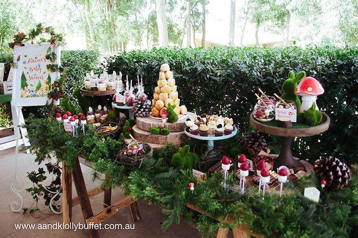Woodland Forest Baby Shower via Kara's Party Ideas | KarasPartyIdeas.com (6)