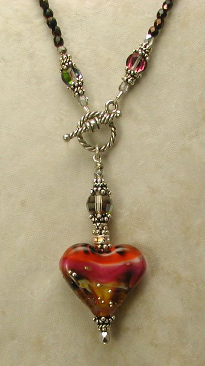 Love 2014! -- Front Toggle Necklace