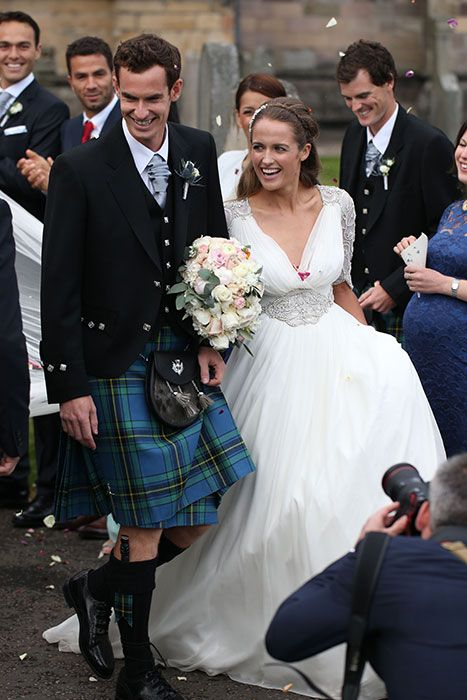 Andy Murray and Kim Sears marry in spectacular wedding ceremony