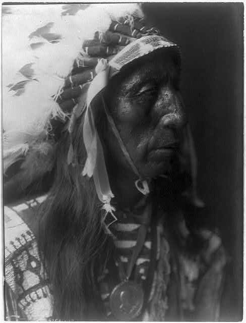 Jack Red Cloud by Edward S. Curtis