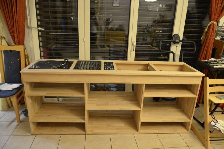 Meuble Dj Artisanal. - forum Accessoire DJing - Audiofanzine