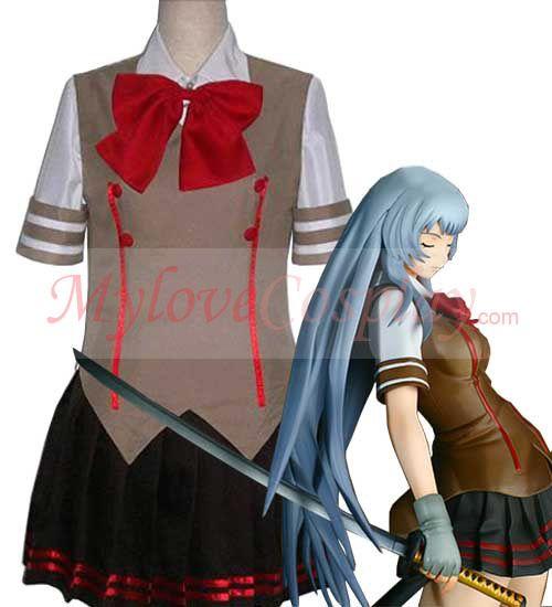 Battle Vixens cosplay Chou'un Shiryuu Cheap Cosplay Outfits