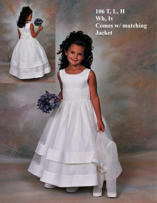 16 Best First Communion Dress Images on Pinterest Bridesmaids