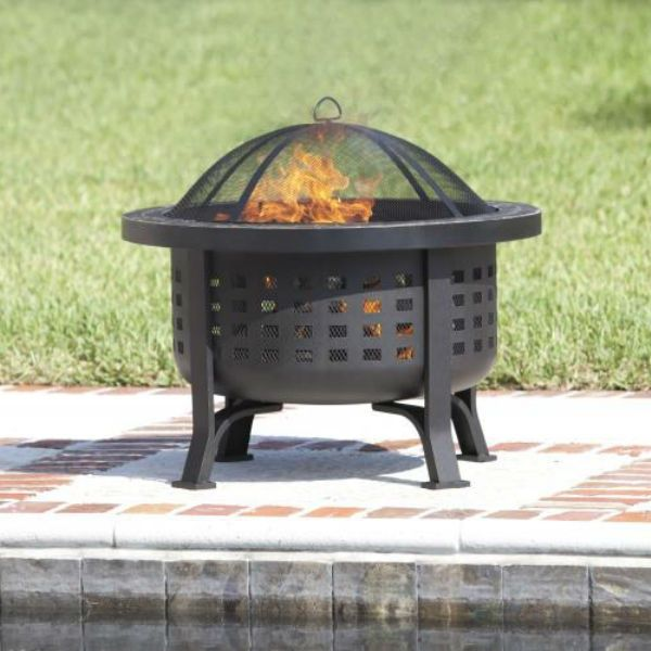 Alpina Wood Burning Fire Pit Wood Burning Fire Pit Outdoor Fire Pit Fire Sense