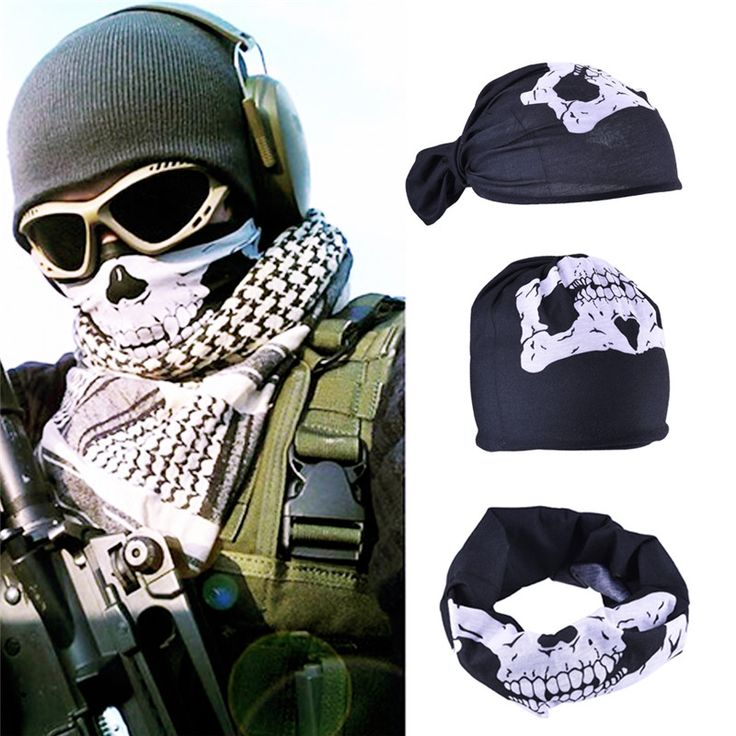 New Skull Bandana  Paintball Bike Motorcycle Helmet Neck Face Mask Paintball Ski Sport Headband Halloween Skull Face Mask #>=#>=#>=#>=#> Click on the pin to check out discount price, color, size, shipping, etc. Save and like it!