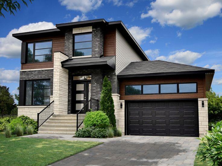 maison contemporaine avec garage - Recherche Google