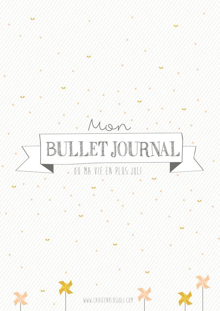 Des printables pour votre Bullet Journal