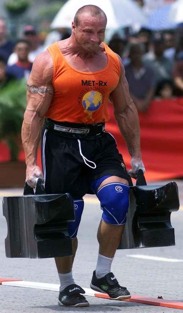 Mariusz Pudzianowski's five World's Strongest Man titles.