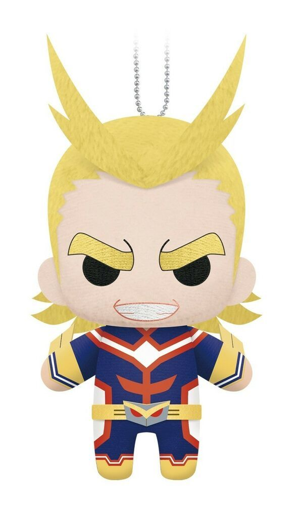 1705 My Hero Academia All Might 6 Inch Plush Dangler Official Little Buddy