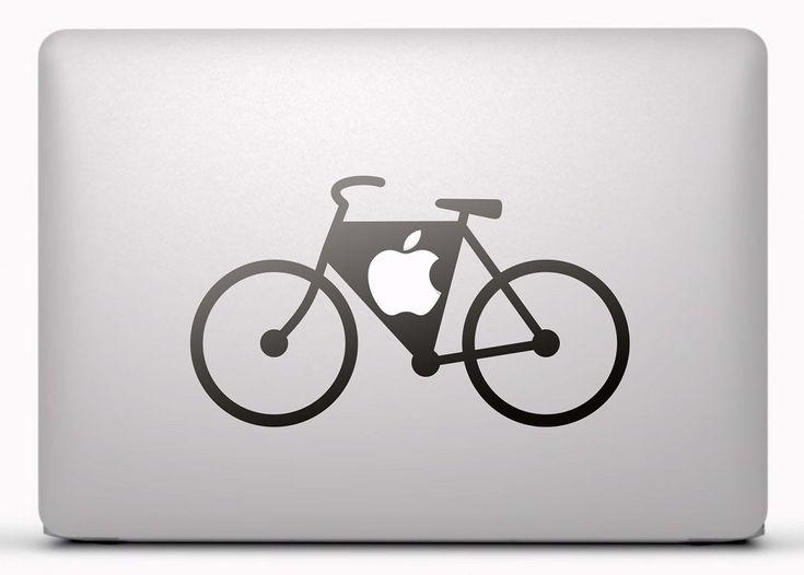 Pegatinas: Bicicleta Vinilo, pegatina, adhesivo para portátil, Mac, o Macbook. #vinilosportatil  #vinilosmac #vinilosmacbook