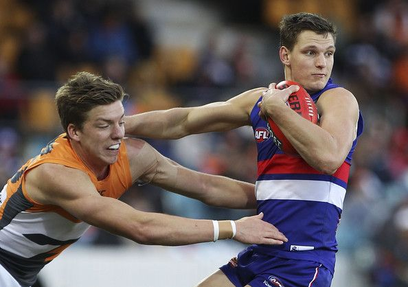 Bulldogs are affected by a big blow prior to this meeting, Jordan Roughead losses for at least two months, as he has on his AC joint surgery.  Comes against his old side, GWS SA Callan Ward made it difficult, just 18 and 14 possessions, on average. It is far from the 29 possessions that he is average in three games so far for 2014.