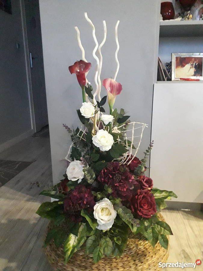 Kompozycje Nagrobne Wiazanki Na Cmentarz Swidnik Creative Flower Arrangements Flower Arrangements Simple Large Flower Arrangements