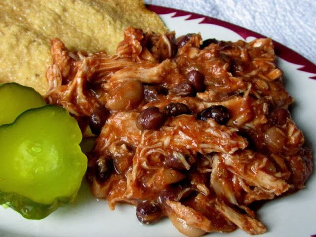 Mexican Chicken in the Slow Cooker