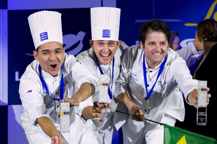 Louis Lesaffre Cup 4th edition - Americas selection  Brazil is one the two wiining teams. Congratulations for your work and see you in Paris for the Coupe du Monde de la Boulangerie  #BakeryLesaffreCup #Brazil