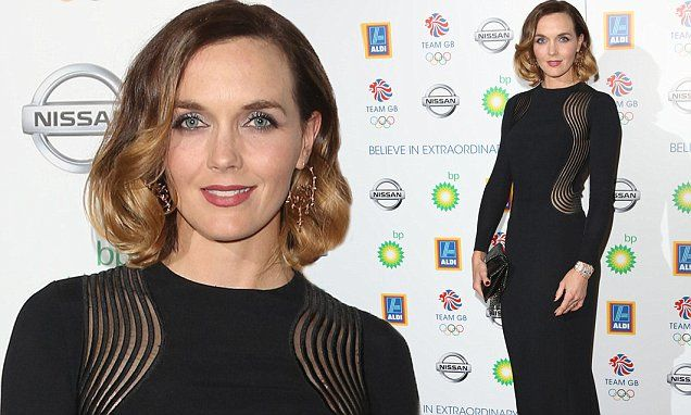 Victoria Pendleton led the glamour at the lavish Team GB Olympic Ball in London on Wednesday.