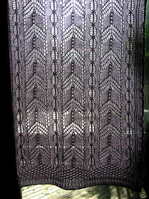 14 best knit curtains images on Pinterest