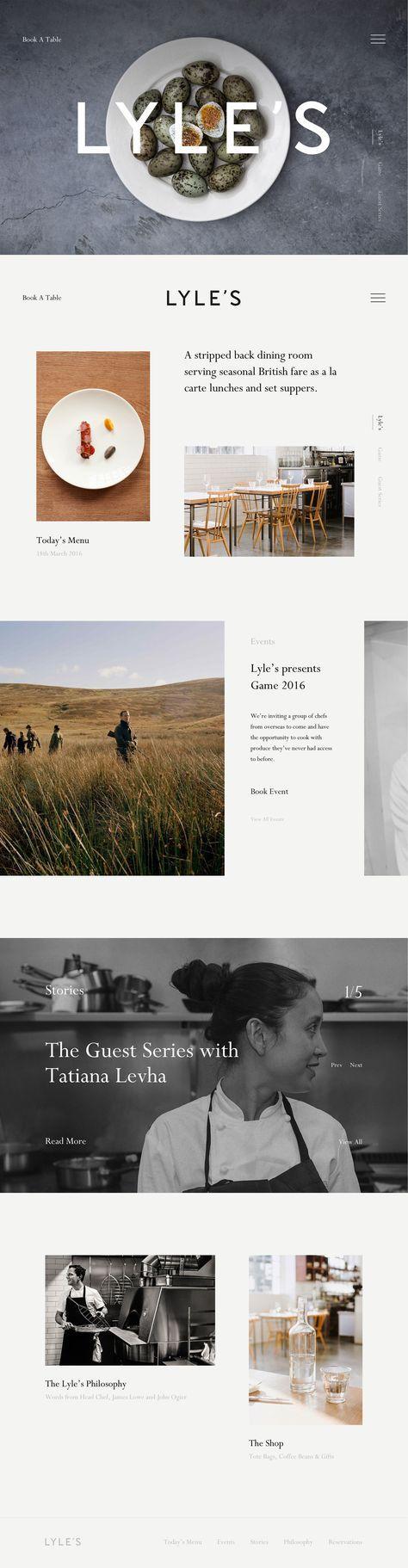Simple website design