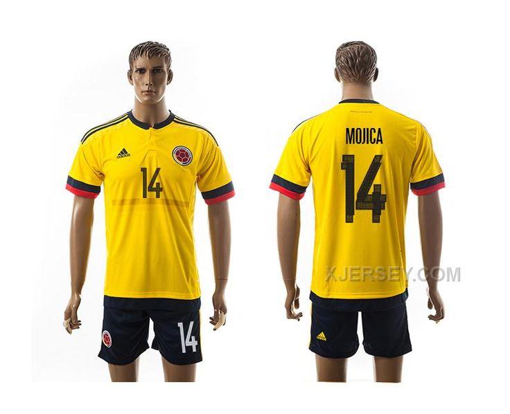 http://www.xjersey.com/201617-colombia-14-mojica-home-jersey.html 2016-17 COLOMBIA 14 MOJICA HOME JERSEY Only $35.00 , Free Shipping!