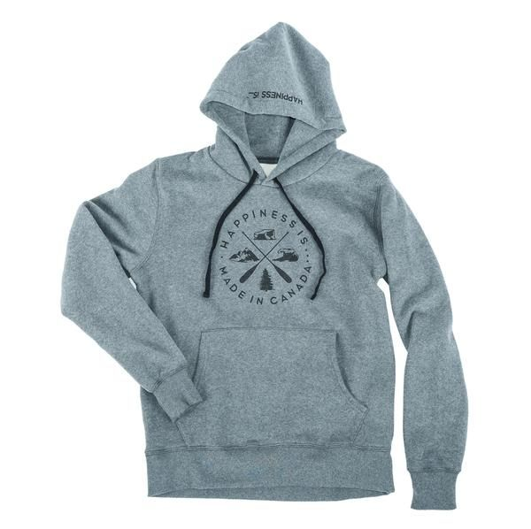 Landscape Hoodie Youth Heather Grey
