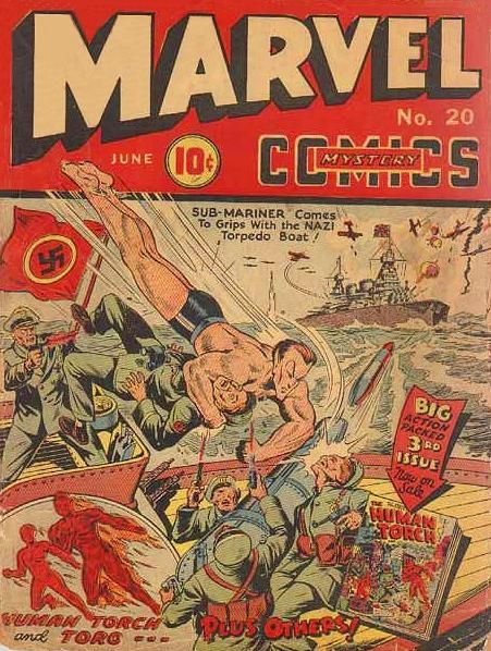 comics propaganda during wwii Comics, propaganda, superman, stan lee, american studies  wildly popular  during world war ii, captain america has never regained a.