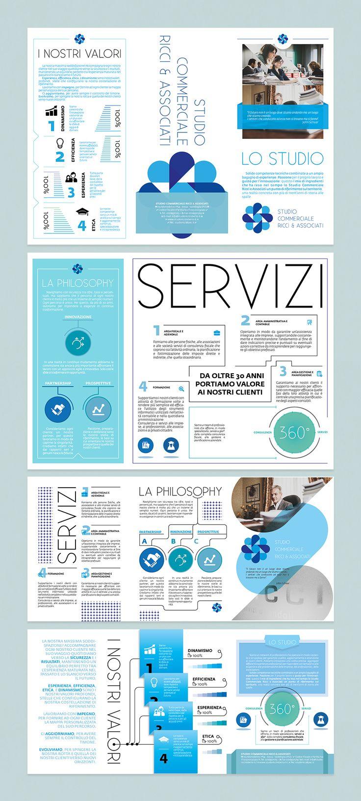 EDITORIAL - Brochure / Infographic - ANDREA PAPI STUDIOS - www.andreapapi.biz